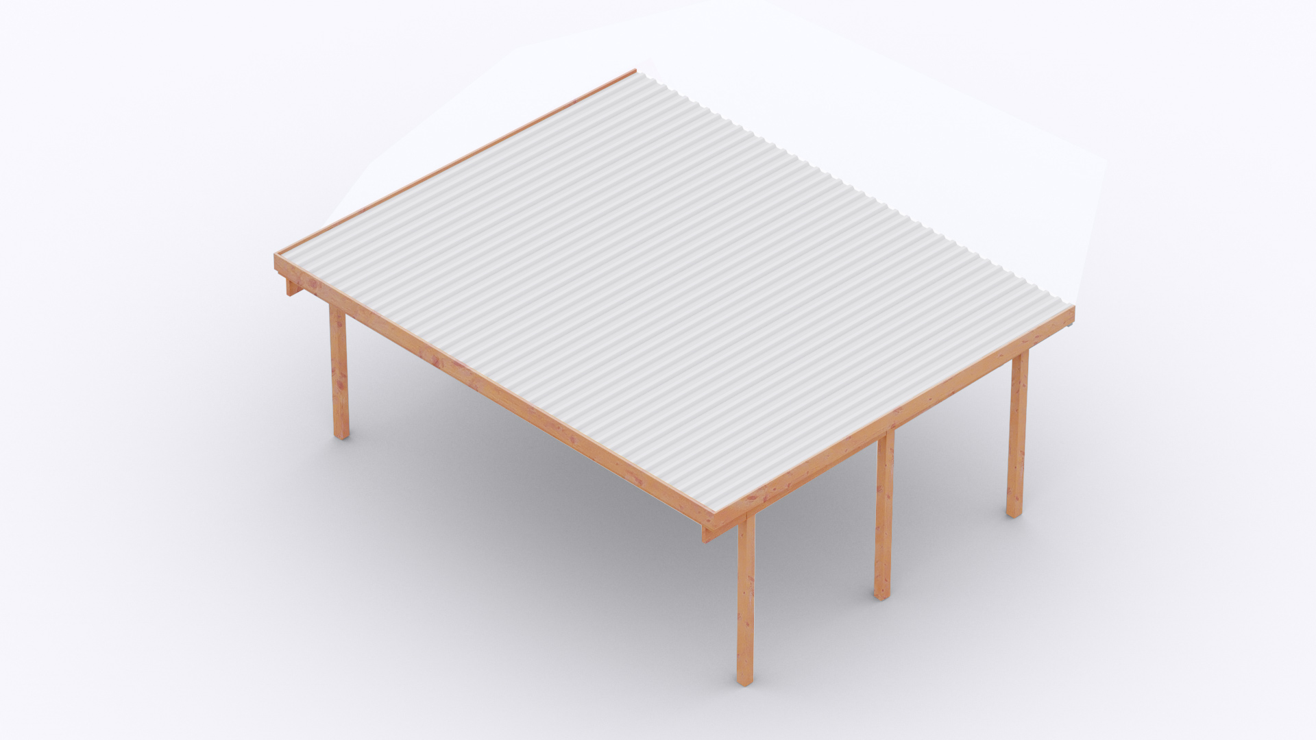 Amüsant Osto Holz Referenz Von Carport 610x510 Cm · Fichte · 2
