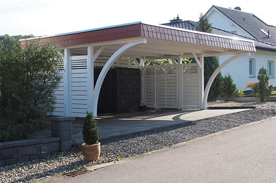 Carport Referenz